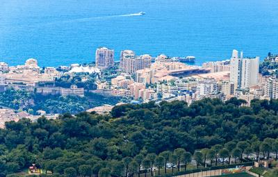 Blick auf Monaco