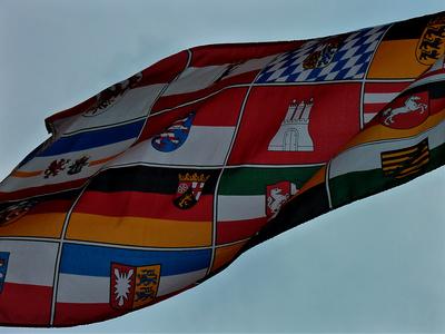 16 Bundesländer Flagge