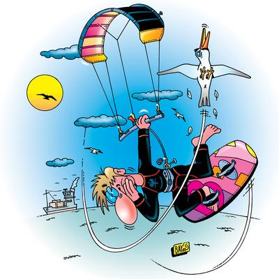 Sport ist Mord: Kitesurfen