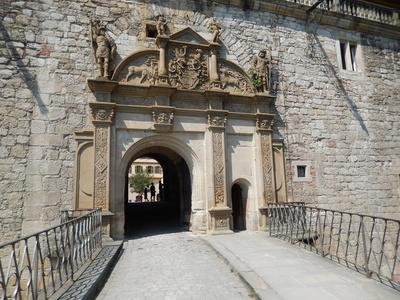 Eingang zum Schloss Tübingen