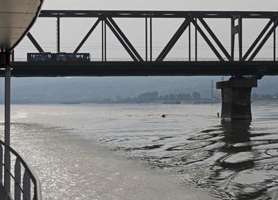 Brückenpassage