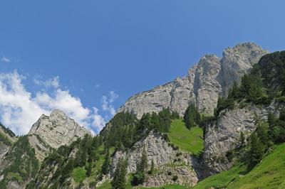 Südflanke des Schären (2171 Meter)