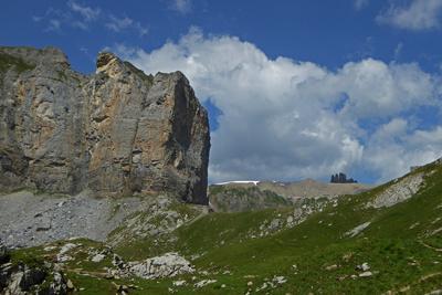 Tschalmeten (2383 Meter)