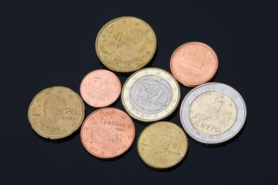 grichische Euro Münzen - Satz