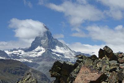 Wetterfahne am Matterhorn