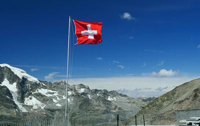 In der Schweiz . . . .