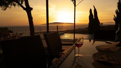 4 Kanareninseln auf einen Blick mit Sonnenuntergang