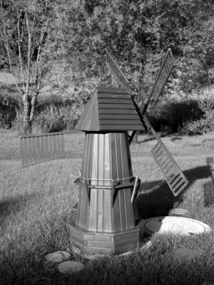 Miniatur-Windmühle (S-W)