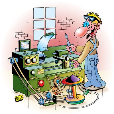Berufsbilder: Zerspanungsmechaniker
