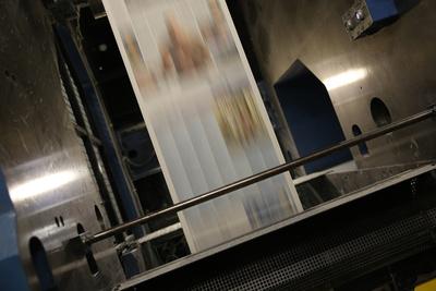 Eine Zeitung entsteht
