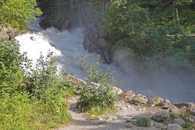 Der Simmen-Wasserfall