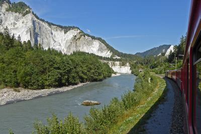 Rheinschlucht per Bahn erleben (1)