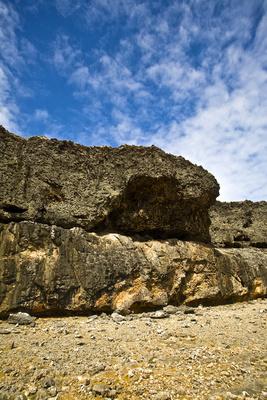 Fels und Wolken