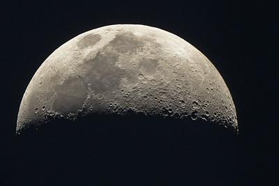Zunehmender Mond vom 21.08.2015