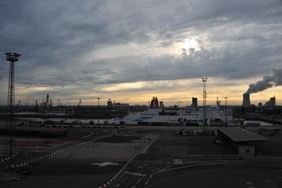 Rostock Hafengelände