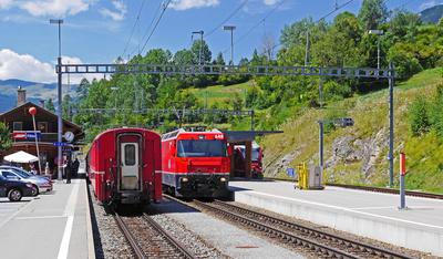 Filisur - Bahnknoten im Hochgebirge