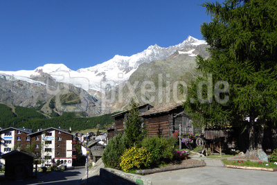 Saas-Fee: Touristendorf im Wallis
