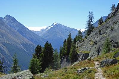 Alpenpässeweg von Saas-Fee nach Grächen