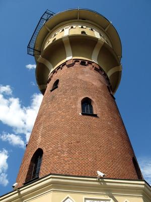 Alter Wasserturm in Goldap