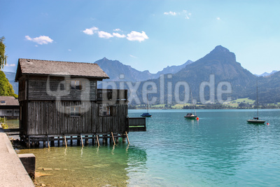 Altes Bootshaus am Wolfgangsee