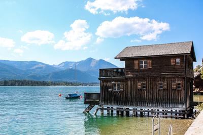 Bootshaus am Wolfgangsee
