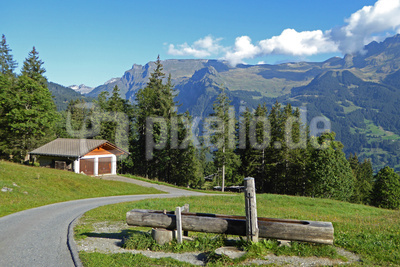 Teilstück vom Eiger Trail