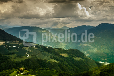 Panorama Bozen