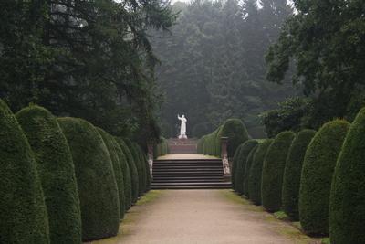 Park und Friedhof in Hamburg