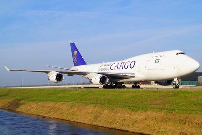 """"""" Saudia Cargo """" Boeing 747 - 87 UF"""