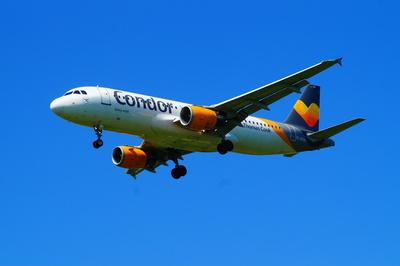 Airbus A - 320 landet