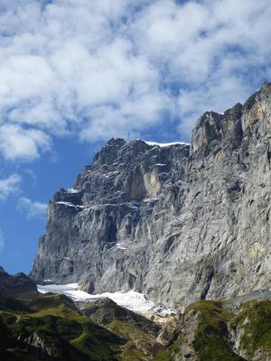 Titlis-Ostwand mit Gletscher