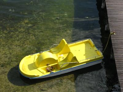 Ein Tretboot-noch nicht in Seenot!