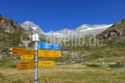 Heute: Route Blau zum Mettelhorn