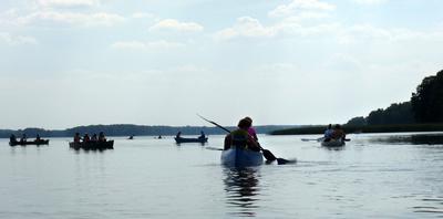 Kanadier auf dem Useriner See
