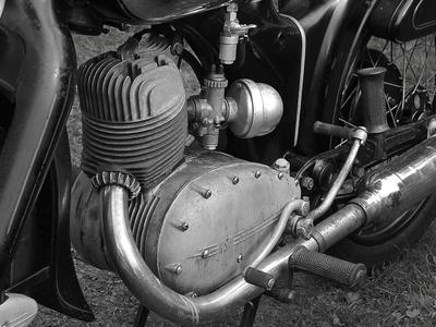 2 Takt Motor