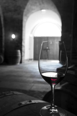Rotwein aus Barolo, Italien in ColorKey