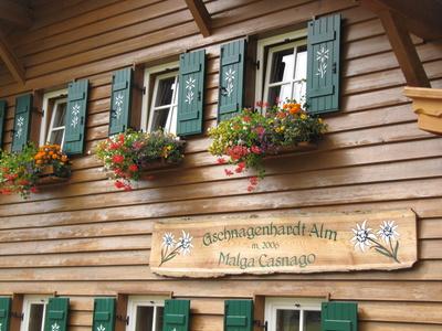 Gschnagenhardt Alm Villnöss Südtirol