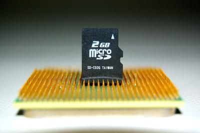 SD Karte auf einer CPU