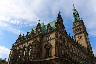 Hamburger Rathaus 04