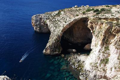 Die blaue Grotte von Malta