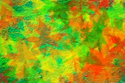 Hintergrund / Blätterfall