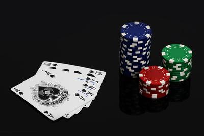 Poker Chips + Karten