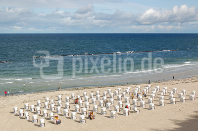 Sellin auf Rügen - Strandansicht