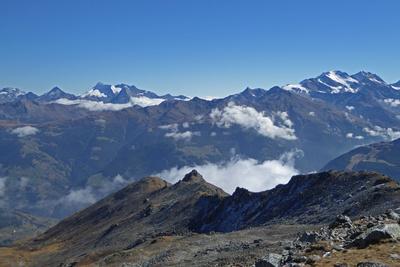 Oberwalliser Alpen vom Augstbordhorn aus