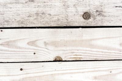 Weiße Holzbretter
