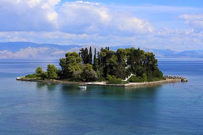 Insel vor Korfu