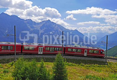 Die Bernina-Bahn , . . . .