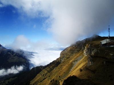 Nebelmeer auf dem Männlichen