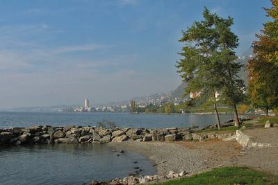 Herbsttag am Lac Léman