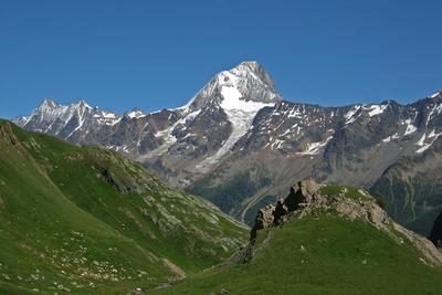 Bietschhorn über dem Lötschental